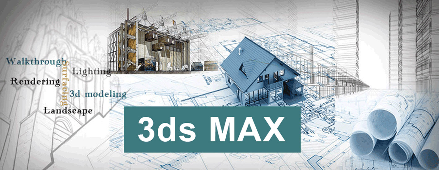 3ds max 3ds max models and 3ds max animation courses for Garden design in 3ds max
